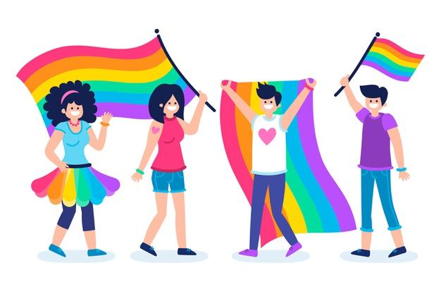 Drapeaux LGBT